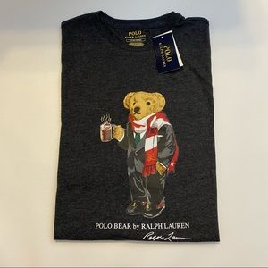 Polo Ralph Lauren Cocoa Bear Long Sleeve Shirt